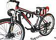 """Горный велосипед Ardis M20D R26"""" алюминиевый с дисковыми тормозами (Черно-красный), фото 3"""