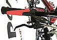 """Горный велосипед Ardis M20D R26"""" алюминиевый с дисковыми тормозами (Черно-красный), фото 10"""