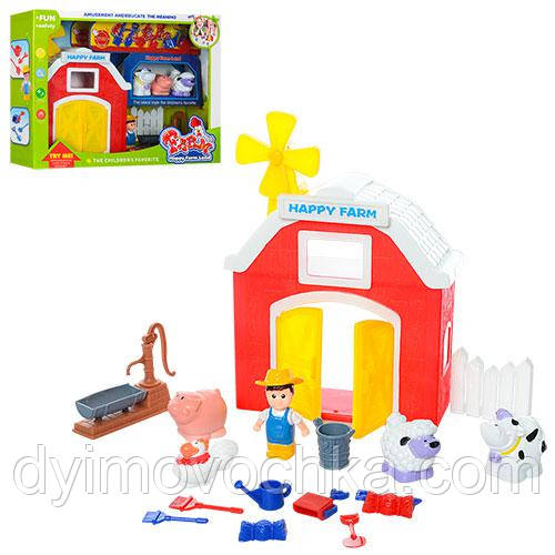 Детский игровой набор «Ферма» с фигурками 2007 4f8aaa38314