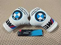 Подвеска боксерские перчатки BMW M5 в авто белые