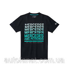 Футболка мужская Mercedes AMG Petronas Motorsport T-Shirt, Men's, Black