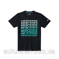 Футболка мужская Mercedes AMG Petronas Motorsport T-Shirt, Men's, Black