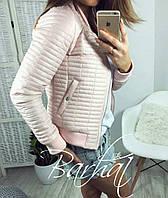 Женская куртка Varvara синтепон облегченный осень весна 42 СЕРЫЙ