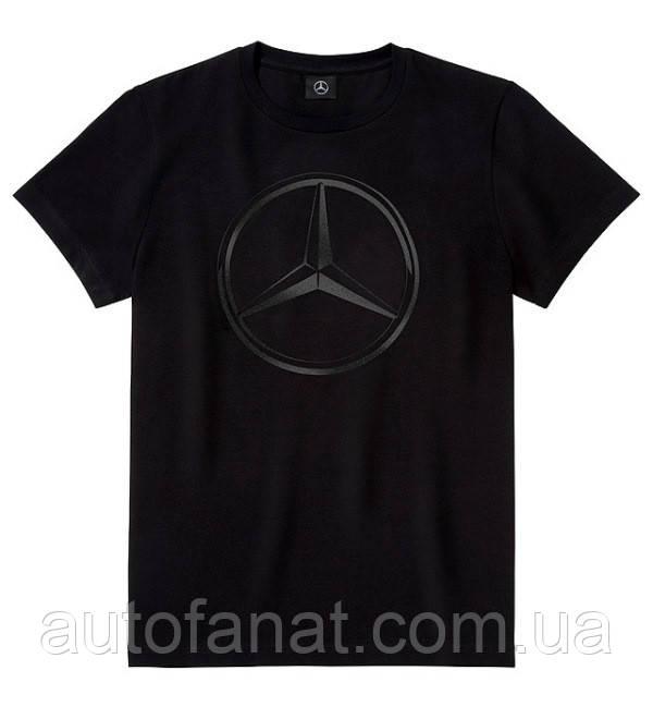 db2de7eae72a9 Оригинальная мужская футболка Mercedes Men's T-shirt, Original Star, Black  (B66958319)