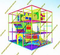 """Лабиринт детский игровой """"Конфетка"""" 3 этажа, фото 1"""