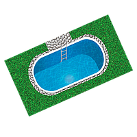 Полипропиленовый бассейн Ecosoft ECOPOOL60ELOF