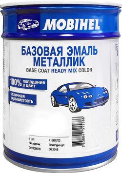 600 Черная Uni MOBIHEL базовая емаль металик 1л.