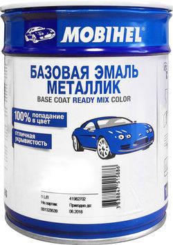 600 Черная Uni MOBIHEL базовая емаль металик 1л., фото 2