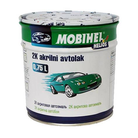 470 Босфор  Автоэмаль 2К акриловая Mobihel двухкомпонентная 0.75л., фото 2