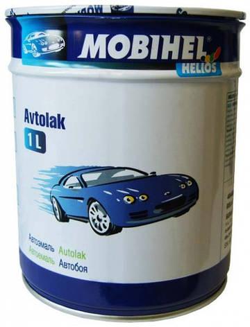330 Зеленая  MOBIHEL Автоэмаль алкидная 1л., фото 2