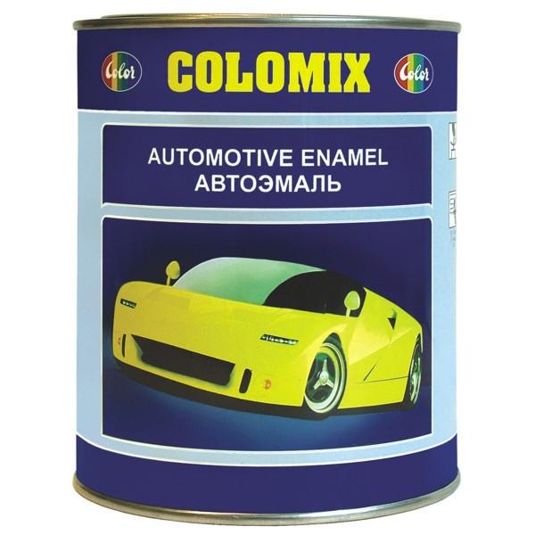 340 Олива зелена  COLOMIX автомобильная алкидная эмаль 1л.