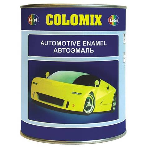 373 Серо зелен.  COLOMIX автомобильная алкидная эмаль 1л., фото 2