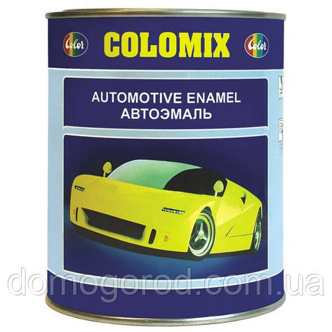 456 Темно син.  COLOMIX автомобильная алкидная эмаль 1л., фото 2