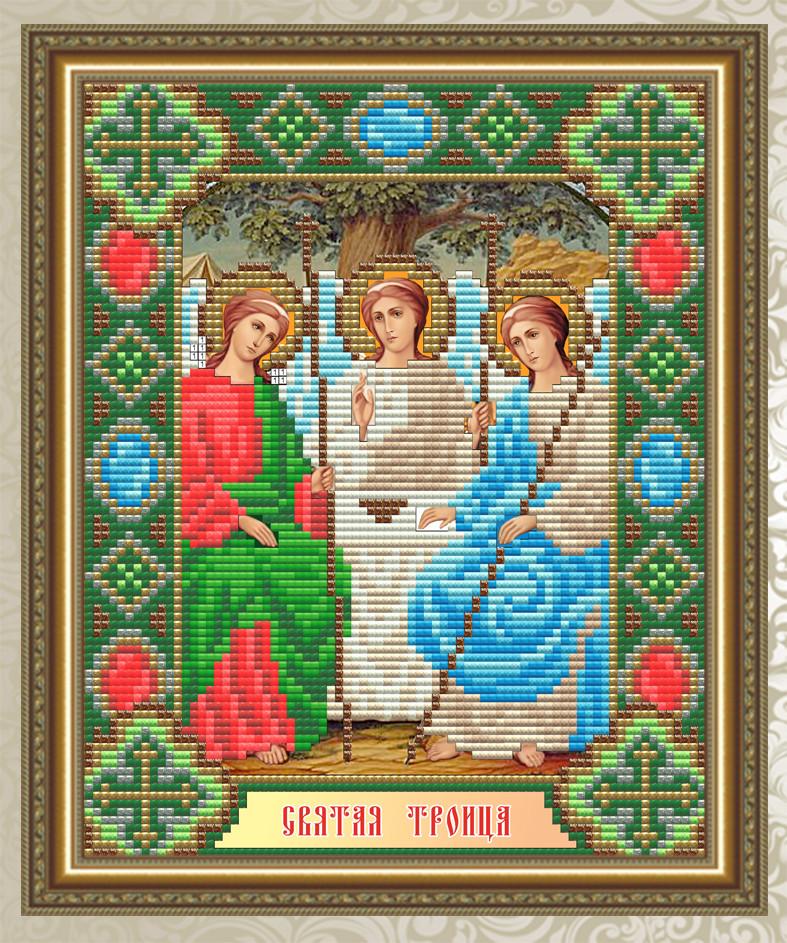 Набор алмазной живописи 24,6х20см - икона Святая Троица