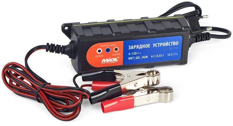 Зарядное устройство 0.55A/1A  6V/12V