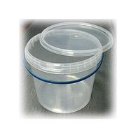 Ведро 5 л. пластиковое для пищевых продуктов код 5000V