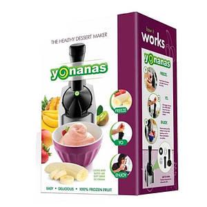Мороженица Yonanas Healthy Dessert Maker | машинка для приготовления мороженого Йонанас Мороженица Yonanas Healthy Dessert Maker