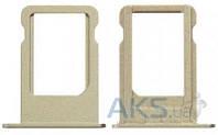 Держатель SIM-карты Apple iPhone 5S / SE Gold