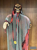 Декорации на праздник Хэллоуин Halloween скелет 1.5м х 1м