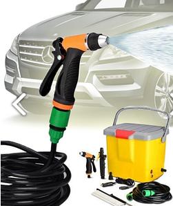 Портативная автомобильная мойка душ от прикуривателя High Pressure Portable Car Washer | автомойка |мойка авто автомобильная мойка