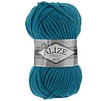 Пряжа шерсть с акрилом нитки для вязания Alize Superlana Maxi