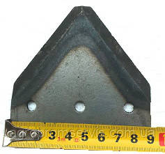 Сегмент режущего аппарата жатки ПСП-1.5 ПСХ-03.041, фото 2