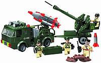 Конструктор Ракетная установка серии Боевые зоны Brick (812) , фото 1