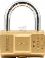 Замок навесной повышенной безопасности Stanley S742-046 40 мм 81121371401 T576879