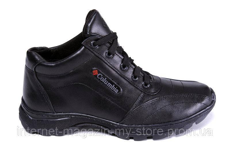 Мужские зимние кожаные ботинки Columbia ZK Traction