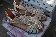 Босоножки Panda кожаные для девочки Италия, фото 1