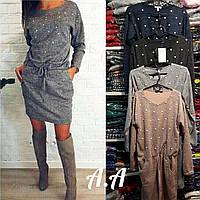 Женское платье ангора 42-46р в ассортименте , фото 1