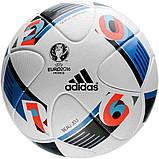 Мяч футбольный Adidas Beau Jeu EURO16 OMB AC5415 (размер 5), фото 2