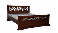 Деревянная кровать Лиана