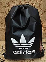 Сумка рюкзак-мешок ADIDAS  Сумка для обуви(только ОПТ ), фото 1