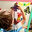 Алмазна техніка 145х110мм метелик-магніт «Голуб'янка Даніс (Danis Danis)», фото 2