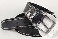 Ремень кожаный джинсовый King Belts 45 мм