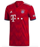 8fa5744ca3e6 Футбольная форма Бавария с коротким рукавом 18 19 сезона, домашняя