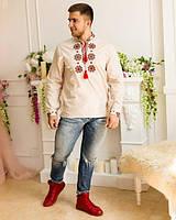 Мужская сорочка вышиванка, фото 1