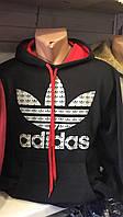 Мужская спортивная толстовка 48-52р теплая adidas