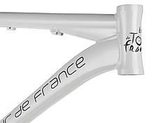 "Велосипедная рама 26"" алюминиеваяTour De France размер 15"" White, фото 3"