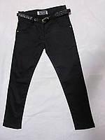Детские школьные котоновые брюки для девочки
