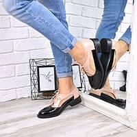 Туфли женские So Trend черный + беж