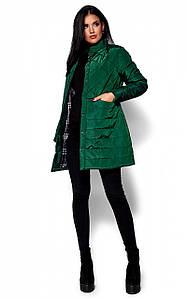 (S, M, L) Жіноча зелена куртка-пальто Peris