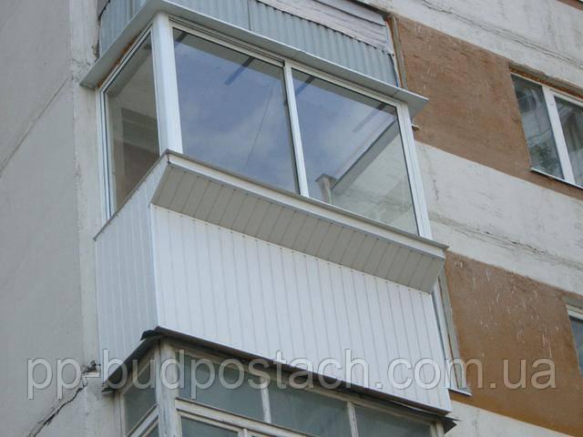 Єдині рольставні для всього балкона