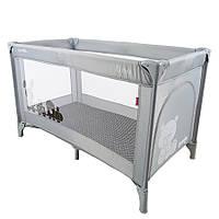 Манеж кровать CARRELLO Uno CRL-7304 GREY