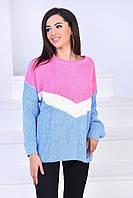 Вязанный свитер 5019 Б-Турция, фото 1