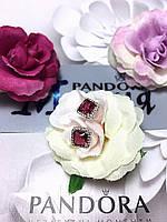 Серьги Pandora 0098 «Классическая элегантность» из серебра 925 пробы