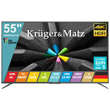 "Телевизор 55"" Kruger&Matz (KM0255UHD-S2)"