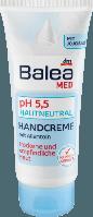 Balea Med Handcreme pH 5,5 - Крем для чувствительной кожи рук, нейтральный pH 5,5, 100 мл, фото 1