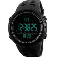 Мужские часы Skmei 1267 Черные Amigo